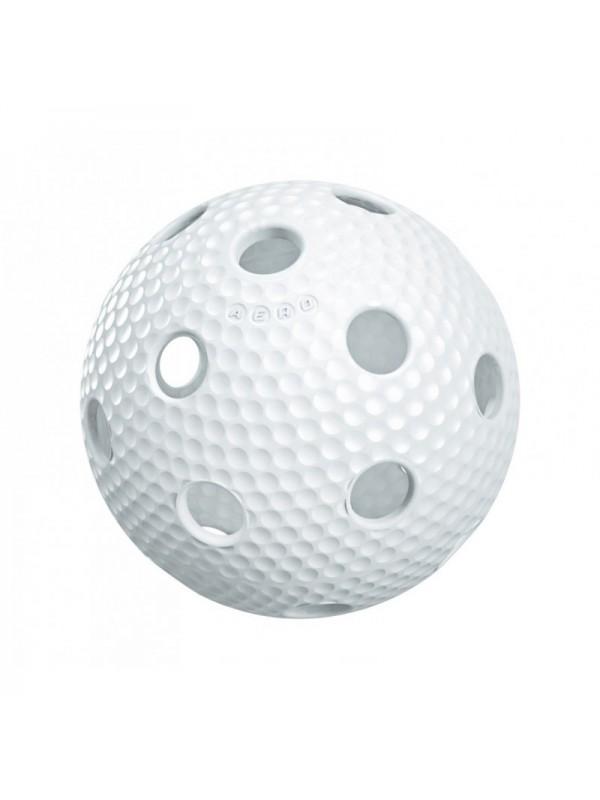Salming Aero Plus Ball, white with dumples