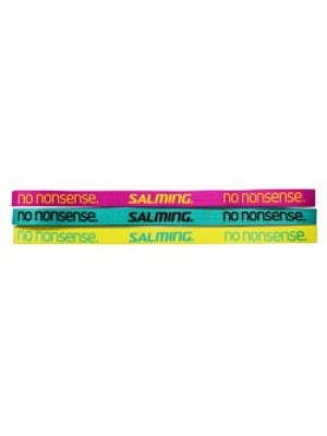Salming Hairband 3-Pack Green/Yellow/Pink