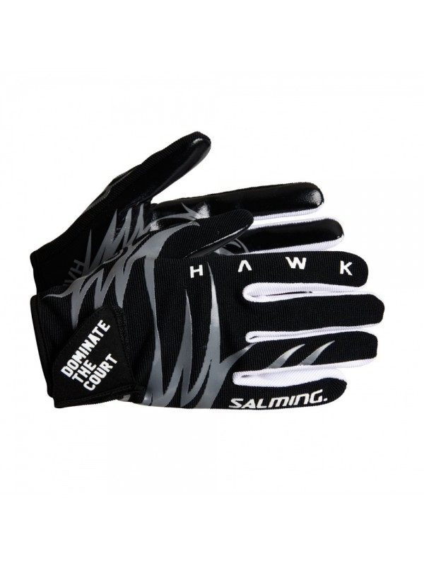 Salming Hawk Goalie Gloves Black/Grey