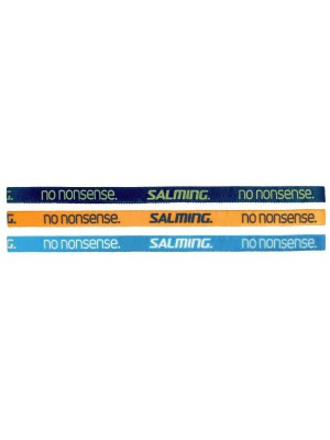 Salming Hairband 3-Pack Cyan/Navy/Orange
