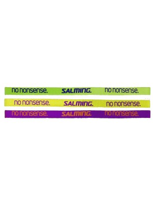 Salming Hairband 3-Pack Green/Yellow/Purple