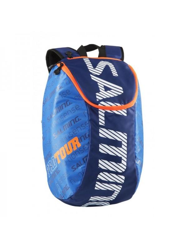 Salming Pro Tour Backpack, Navy/Orange, 18L