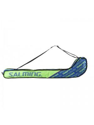 Salming Tour Stickbag JR, Gecko Green/Royal