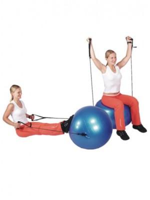 Gymnastický míč s úchyty 65